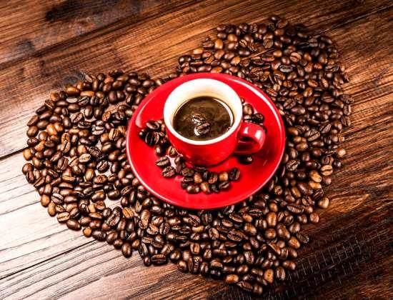 Картина по номерам 40x50 Большая любовь к кофе